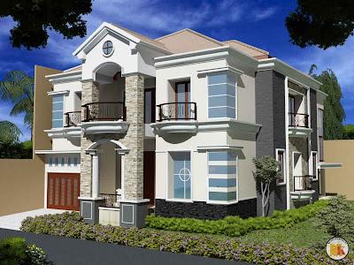 Model Desain Rumah Mewah