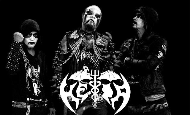 Héia: confirmada ao lado de Marduk no Rio de Janeiro