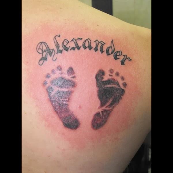 footprint tattoos