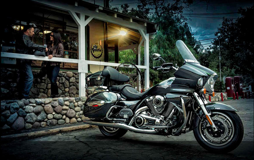 Kawasaki Vulcan 1700 Voyager ABS With Audio Player Perfect Motorcycle For Touring