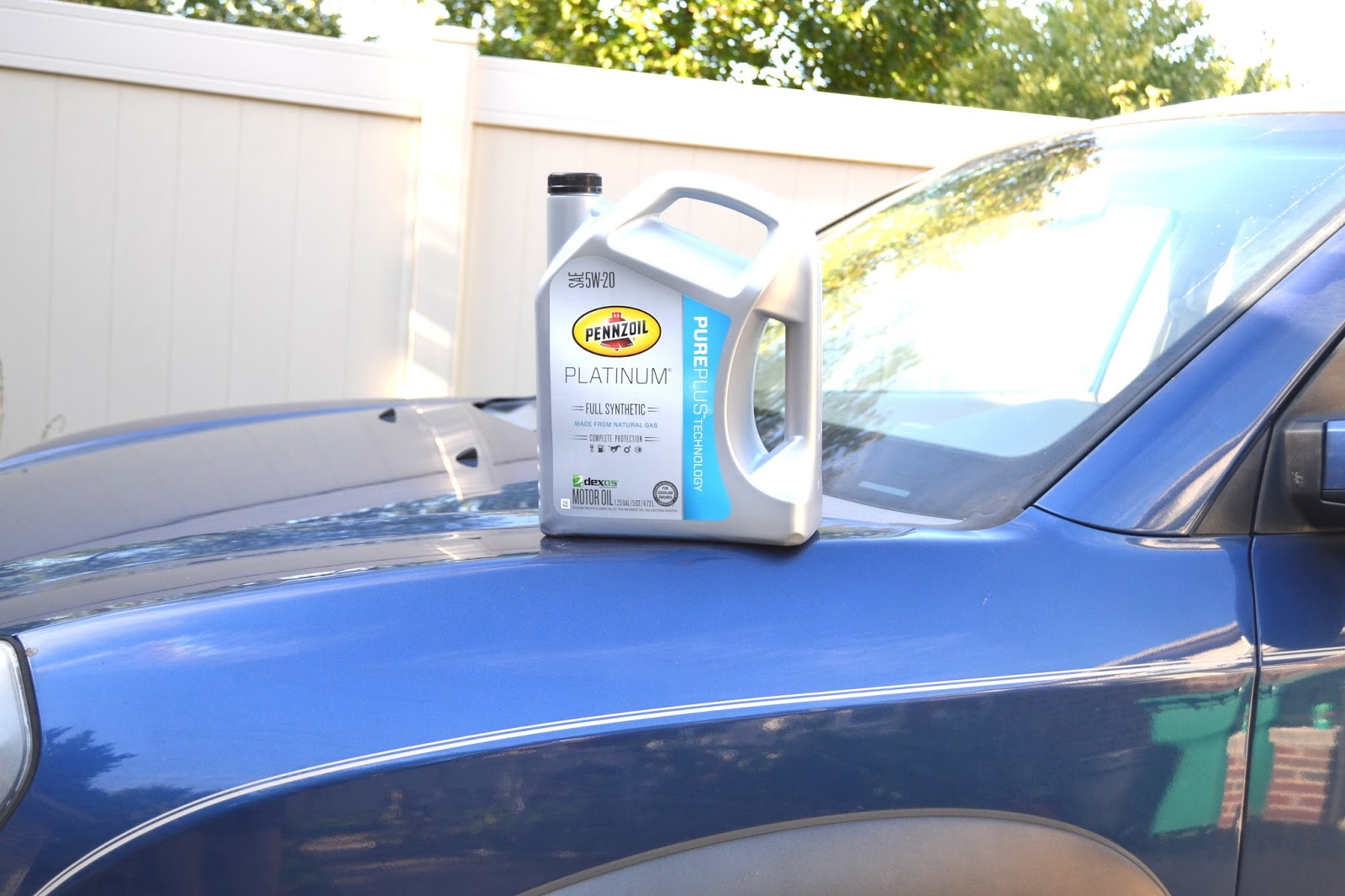 How to do your own oil change the nutritionist reviews for our oil change we used pennzoil platinum full synthetic motor oil which we picked up at my husbands former employer autozone solutioingenieria Choice Image