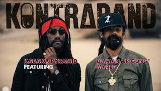 """Kabaka Pyramid Feat. Damian """"Jr. Gong"""" Marley - Kontraband  mp3"""