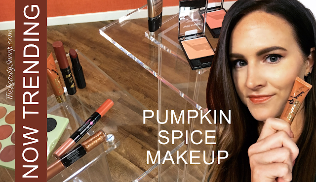 PUMPKIN SPICE MAKEUP LOOKS FOR FALL