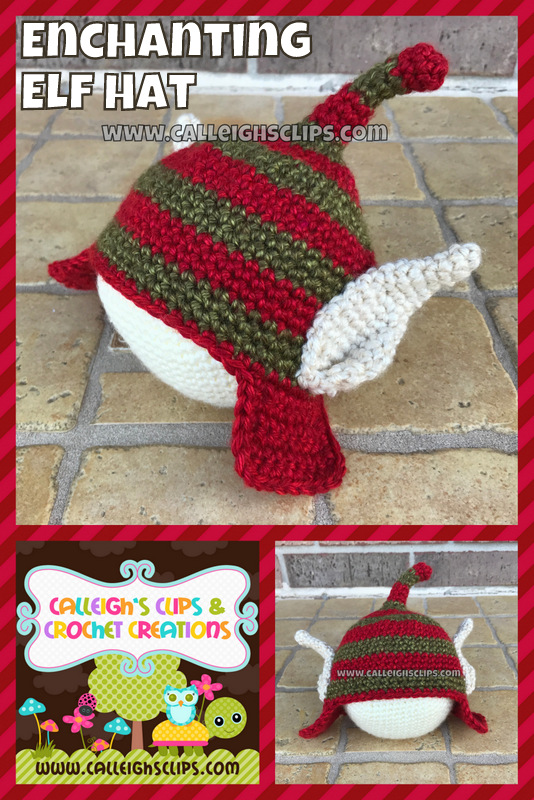 Calleighs Clips Crochet Creations Enchanting Elf Hat Free