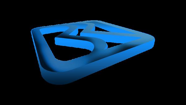 Logo BRI (Bank Rakyat Indonesia) 3d
