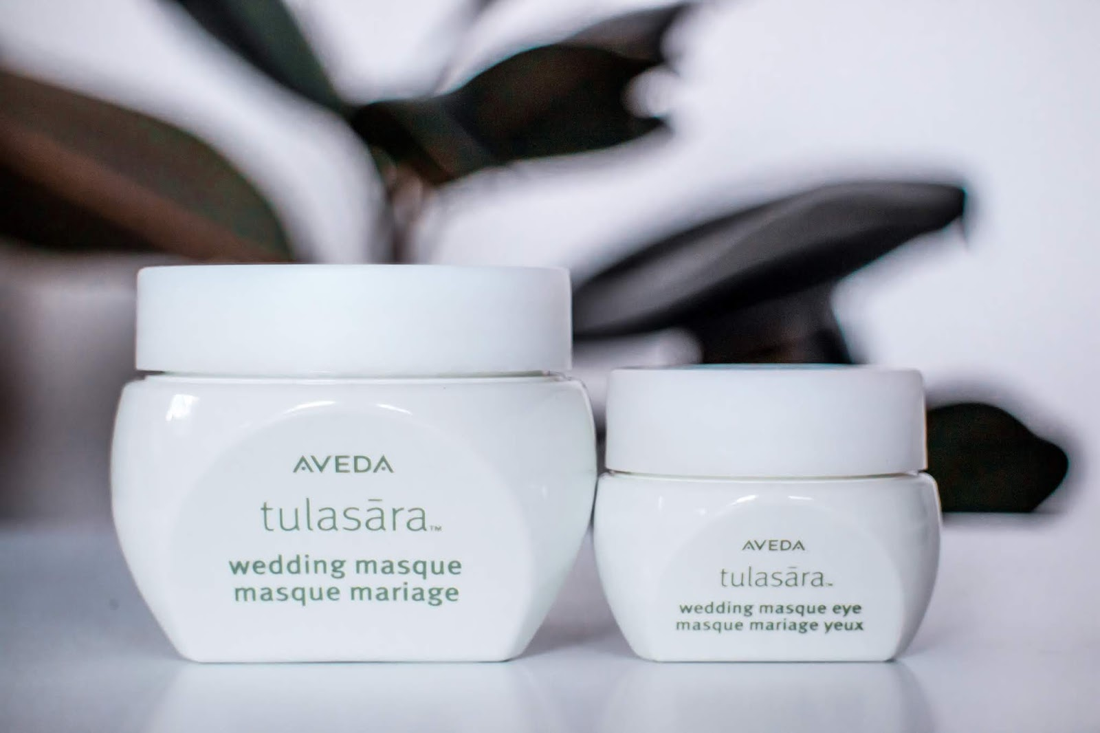Aveda Tulasara Wedding Masque and Tulasara Wedding Eye Masque