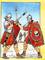 studiamo l'esercito romano. Pagina per bambini e ragazzi.