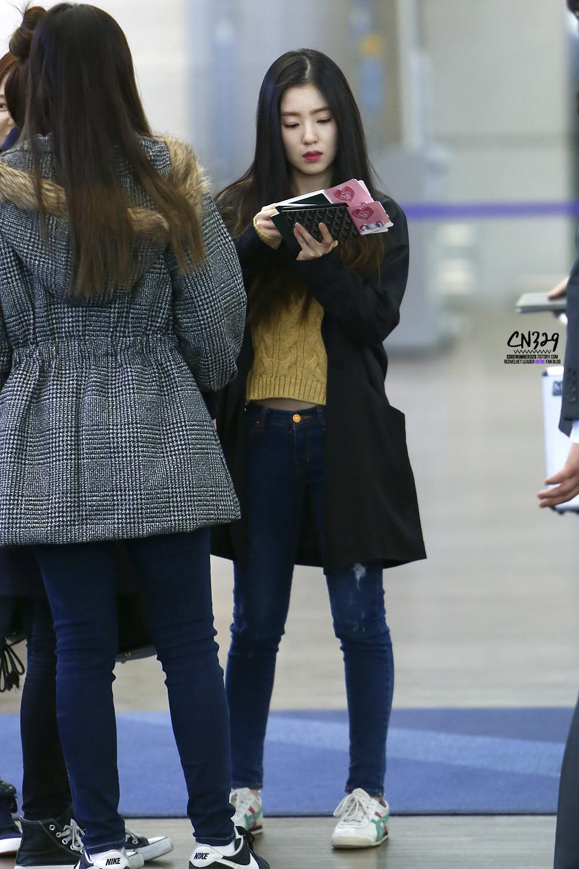 Red Velvet Irene Airport Fashion