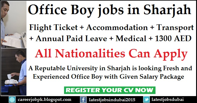 Office Boy jobs in UAE