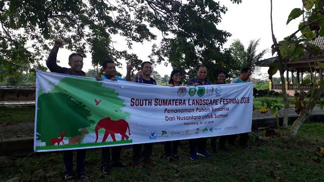 Deklarasikan Lanskap Nusantara, di Bumi Sriwijaya