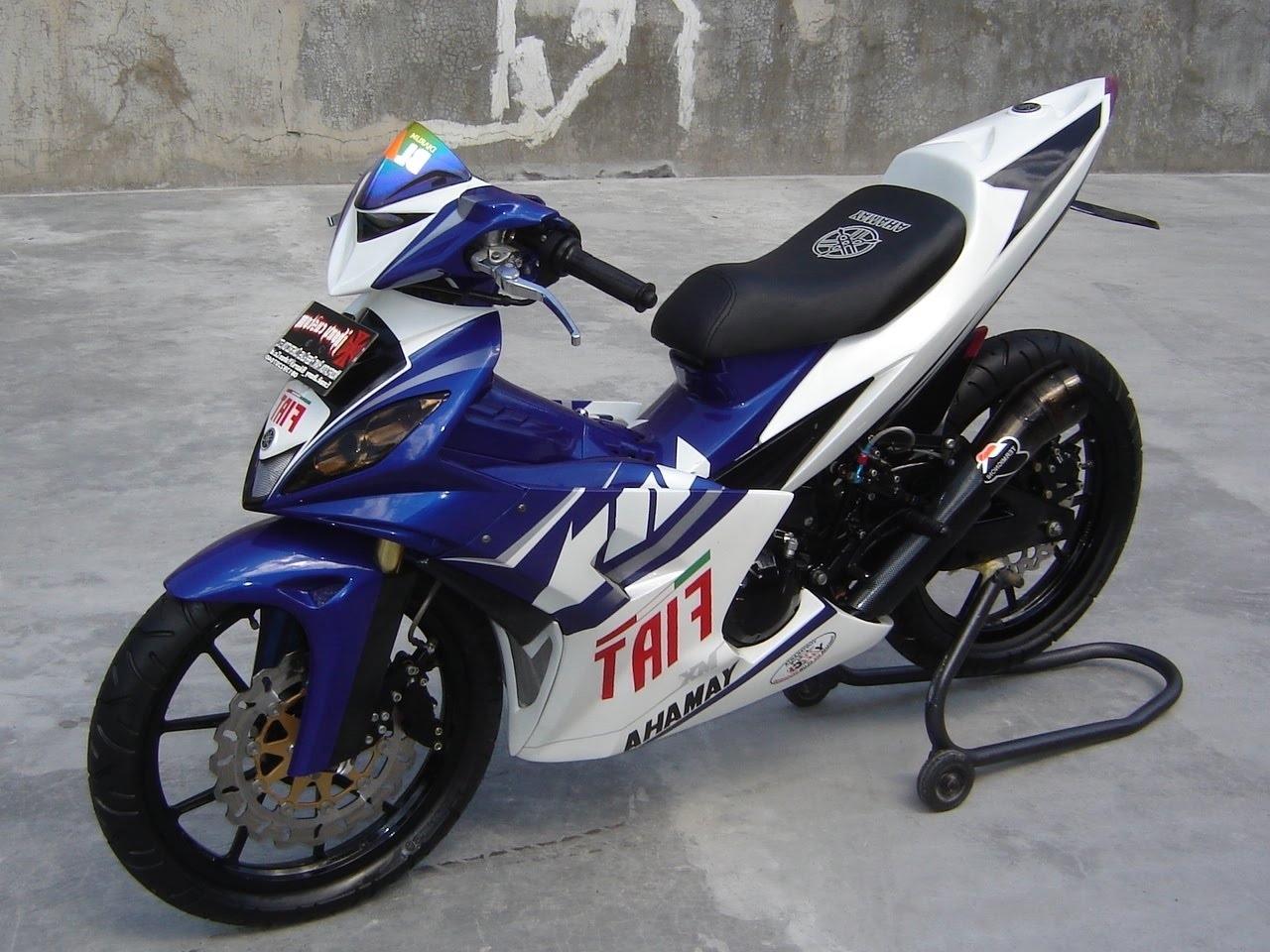 Modifikasi Honda Revo 110 Fit Absolute Drag Sederhana Tapi Keren