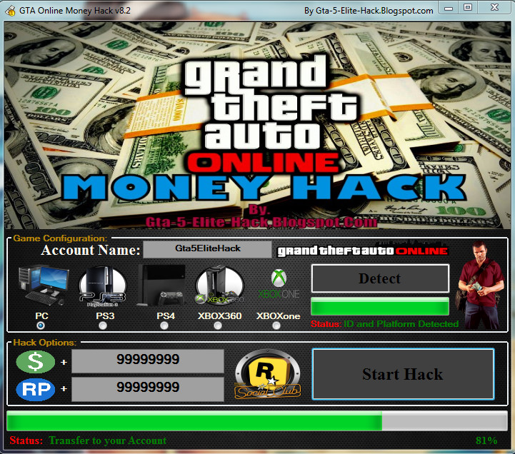 gta 5 money generator no human verification no survey 2018