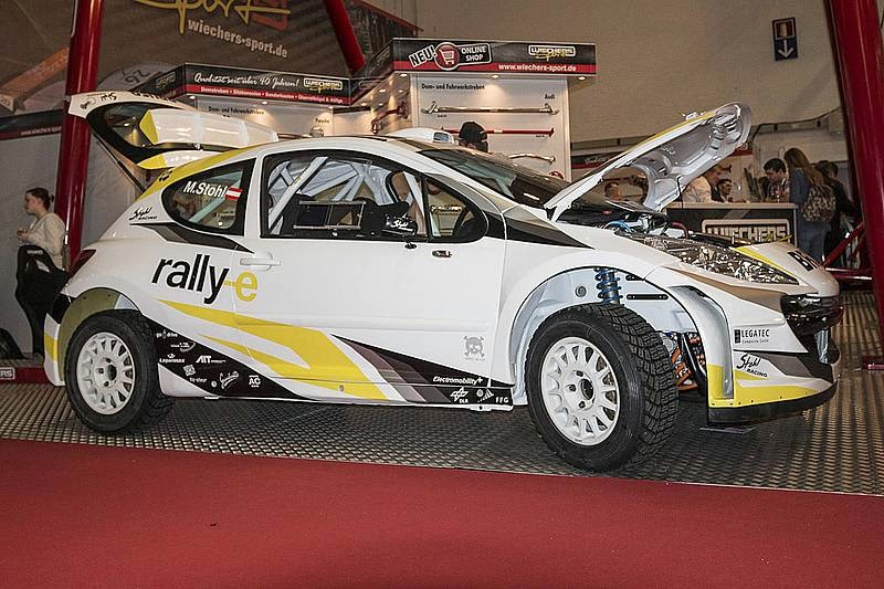 Stohl Racing Reveal Peugeot 207 S2000 Awd Electric Rally Car