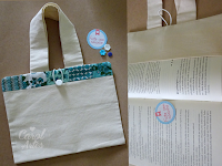Bolsa/Capa para livro