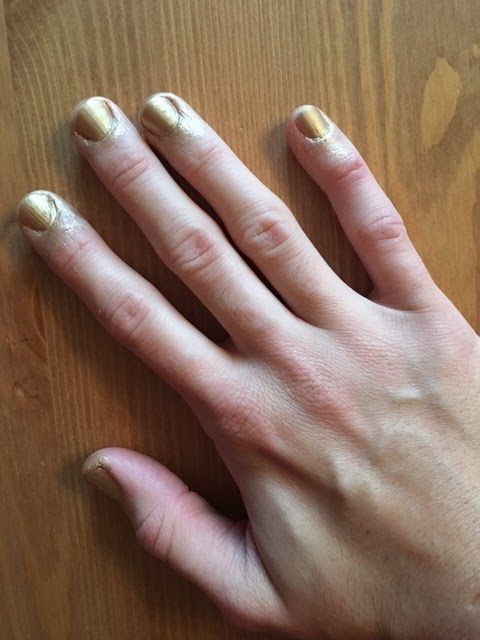 Nailsinc The Paint Can Good As Gold