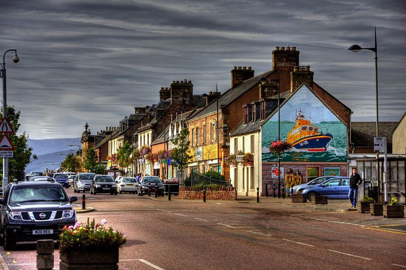 Los murales de Invergordon | Escocia