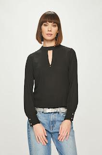 Bluza femei cu guler drept