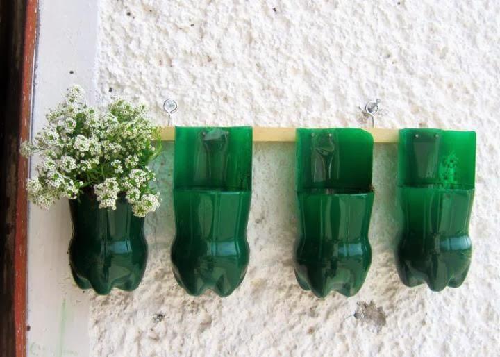 Transform A Plastic Bottle Into A Flower Pot Goodiy