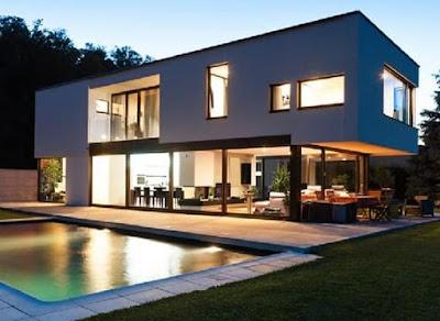 model atap rumah minimalis 2 lantai