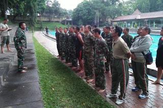 Persiapan Renang Militer