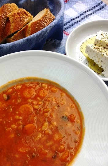 Fasolada Traditional Greek bean soup The national dish of Greece