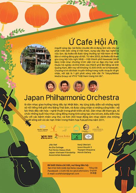 Dàn nhạc giao hưởng Nhật Bản biểu diễn tại Đà Nẵng, Hội An
