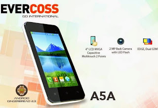 Firmware Flash Evercoss A5A