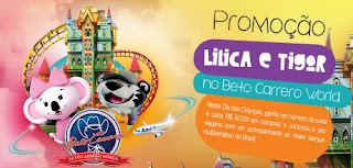 Cadastrar Promoção Lilica e Tigor 2017 Dia das Crianças Beto Carrero World