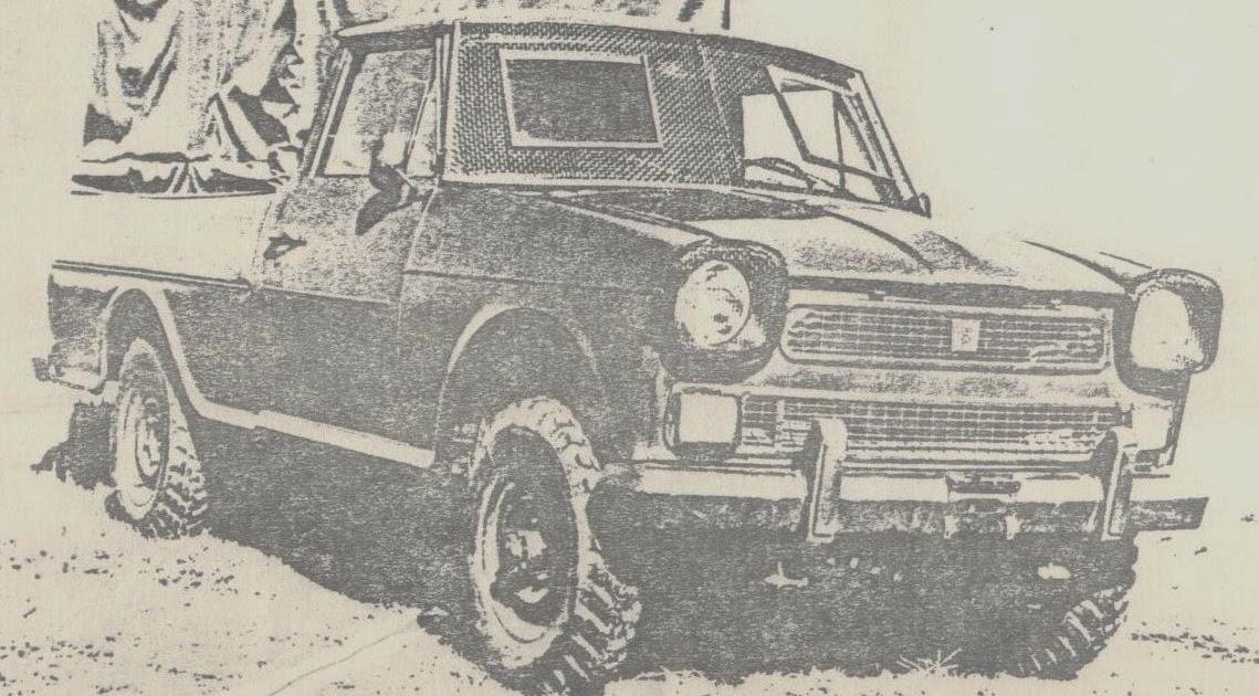 archivo de autos rastrojero diesel p68 dt 1979 prototipo. Black Bedroom Furniture Sets. Home Design Ideas