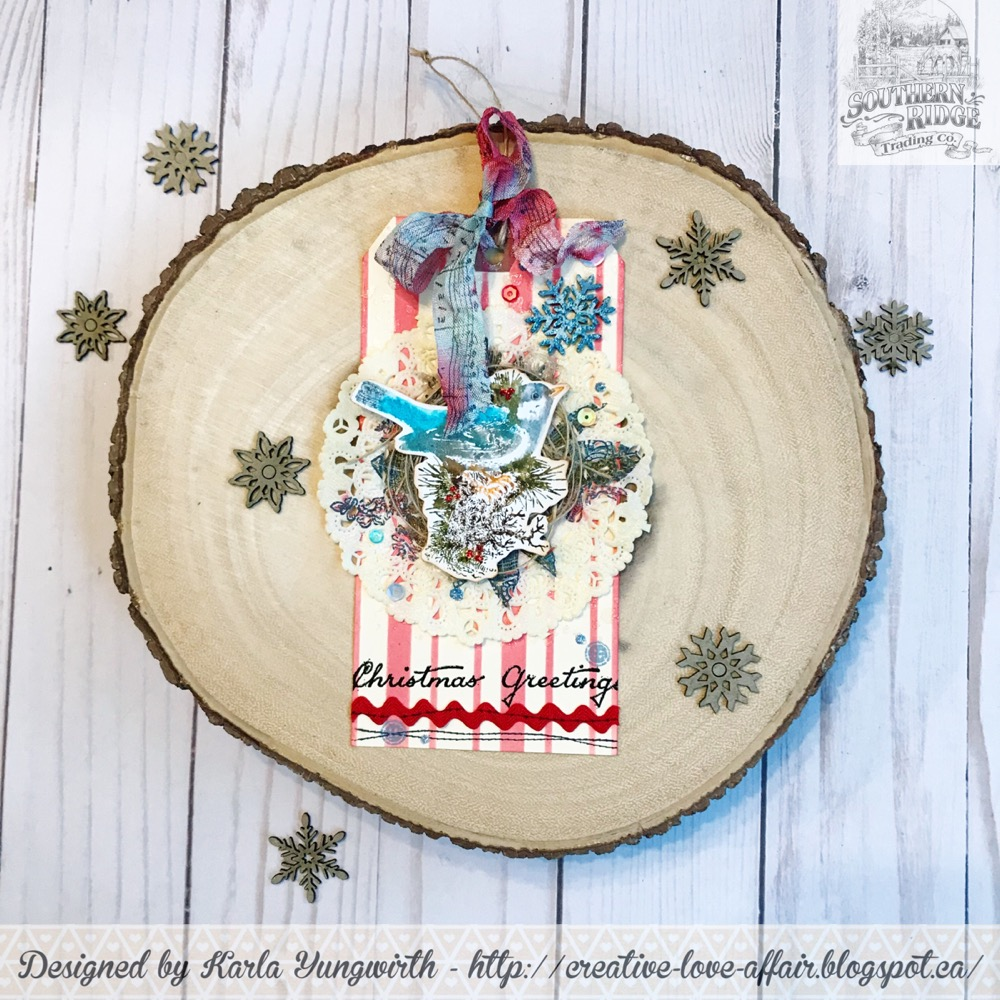 Karla Yungwirth Designs: Southern Ridge Trading Company - Christmas Tag!