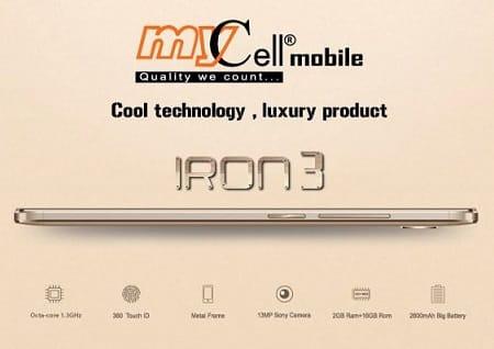 Mycell IRON 3 Smartphone