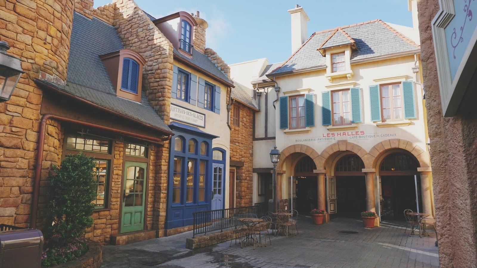 Paris in EPCOT, in Disney World, Florida