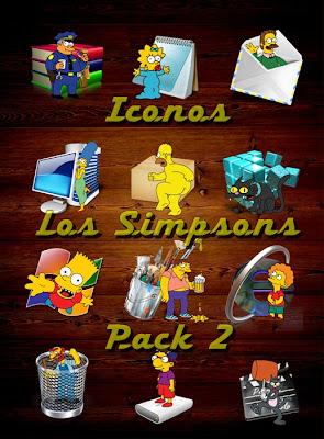 Iconos de Los Simpsons - Pack 2