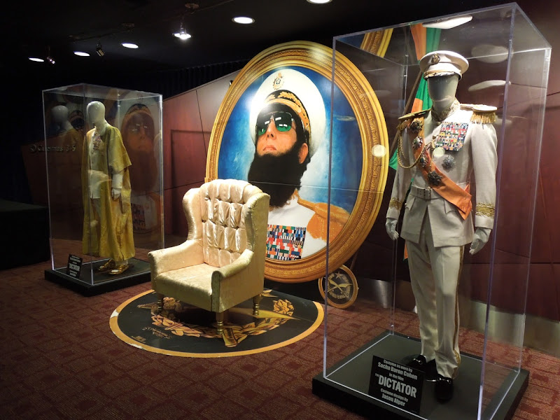 Dictator movie costume exhibit