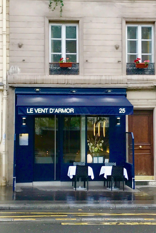 Facade De Restaurant paris missives: le vent d'armor -- restaurant review