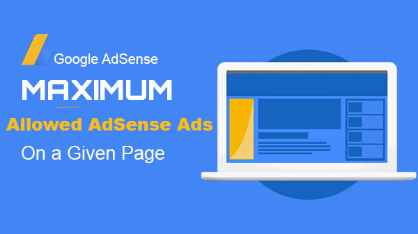 Maximum Allowed Adsense Ads Units on a page