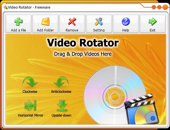 影片翻轉軟體推薦(旋轉視窗):Video Rotator Portable 免安裝版下載