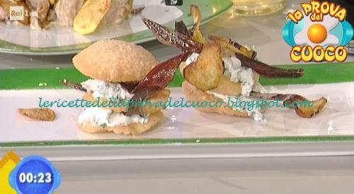 Millefoglie di brisée con le melanzane ricetta Gandola da Prova del Cuoco