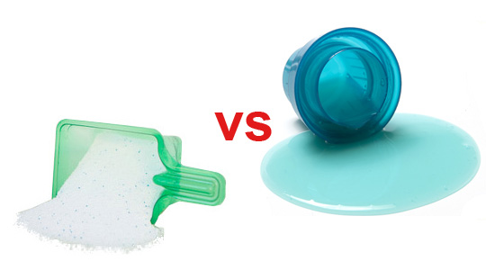 What is the Advantage of Liquid Detergent or Powder Detergent?