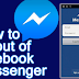 Log Off Facebook Messenger