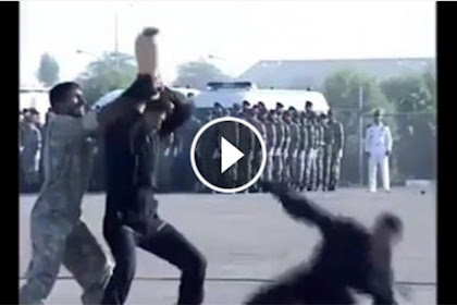 Niat Peragakan Ketangkasan di Hadapan Para Petinggi, Apa Yang Dilakukan Tentara Iran ini Malah Bikin Ngakak