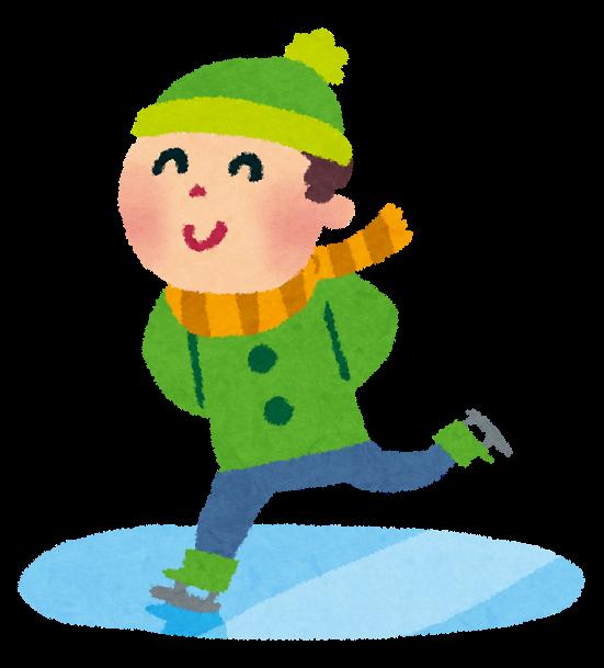 スケートのイラスト男の子 かわいいフリー素材集 いらすとや