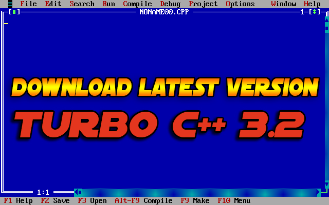 Download Turbo C++ for Windows 7, 8, and Win 10 (32-64 Bit