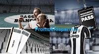 Logo Concorso ''We all Football'': crea lo striscione e vinci gratis maglie Juventus, biglietti e non solo