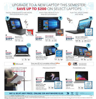 Best Buy Flyer Weekly Back To School Deals Fri Sep 7 – Thu Sep 13