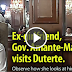WATCH: Ex-girlfriend of Duterte, Gov. Amante-Matba visits him. Observe how she looks at him.