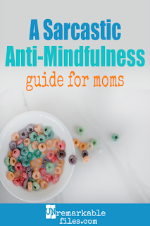 Motherhood is so loud and full of chaos, is it any wonder this funny mom made a parody video of hilarious mindfulness tips for moms? If you think being mindful is impossible for moms, you're in good company. #hilarious #parentinghumor