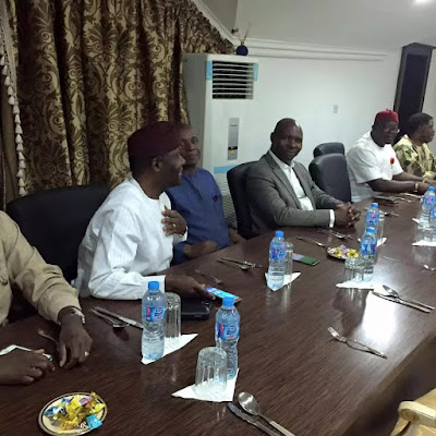 PDP Senators visits former president