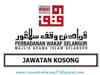 Jawatan Kosong Perbadanan Wakaf Selangor Tarikh Tutup 27 Mac 2017