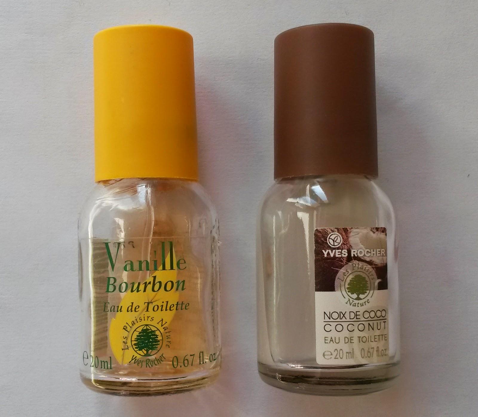 TAG Fall Favorite Things (Ce que je préfère en automne) parfum yves rocher